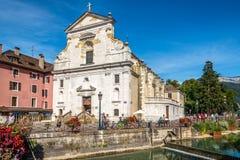 Εκκλησία Αγίου Francois de Sales στο Annecy - τη Γαλλία Στοκ Εικόνες