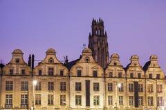 Εκκλησία Αγίου Jean-Baptiste σε Arras που βλέπει από Place des Heroes Στοκ φωτογραφία με δικαίωμα ελεύθερης χρήσης