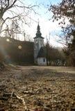 Εκκλησία Αγίου Lenart, Σλοβενία Στοκ Φωτογραφία