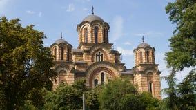 Εκκλησία Αγίου Mark ЦркР² а Ð ¡ Ð ² ÐΜÑ 'Ð ¾ Ð ³ Марка Στοκ φωτογραφίες με δικαίωμα ελεύθερης χρήσης