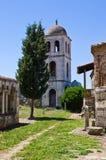 Εκκλησία Αγίου Mary σε Apollonia, Αλβανία Στοκ Φωτογραφία