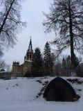 Εκκλησία Αγίου Peter και Pavel Στοκ εικόνα με δικαίωμα ελεύθερης χρήσης