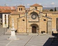 Εκκλησία Αγίου Peter ο απόστολος Avila, Ισπανία Στοκ Εικόνες