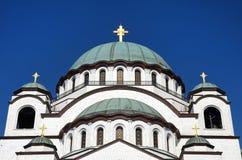 Εκκλησία Αγίου Sava, Belgrad, Σερβία Στοκ φωτογραφίες με δικαίωμα ελεύθερης χρήσης