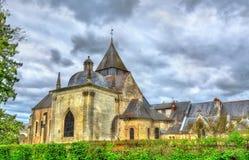 Εκκλησία Αγίου Symphorien σε azay-LE-Rideau στην κοιλάδα της Loire, Γαλλία Στοκ φωτογραφίες με δικαίωμα ελεύθερης χρήσης