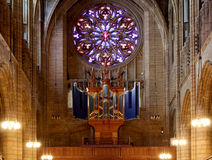 Εκκλησία Αγίου Thomas, που βρίσκονται στο δήμο του Μανχάταν, νέο Yo στοκ εικόνες