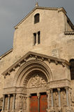 Εκκλησία Αγίου Trophime σε Arles Στοκ φωτογραφία με δικαίωμα ελεύθερης χρήσης