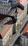 Εκκλησία Αγίου Vincent de Paul στο Ζάγκρεμπ Στοκ Εικόνες