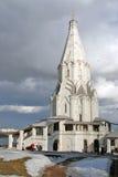Εκκλησία ανάβασης στο πάρκο Kolomenskoye Στοκ Εικόνες