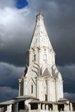 Εκκλησία ανάβασης στο πάρκο Kolomenskoye Στοκ εικόνα με δικαίωμα ελεύθερης χρήσης