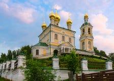Εκκλησία αναζοωγόνησης στην πόλη Ples, Ρωσία Στοκ φωτογραφία με δικαίωμα ελεύθερης χρήσης