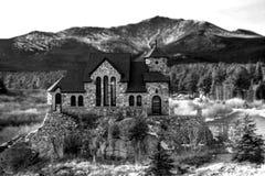 Εκκλησία βουνών Στοκ φωτογραφίες με δικαίωμα ελεύθερης χρήσης