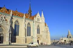 Εκκλησία Βουδαπέστη του Mathias στοκ εικόνες