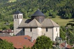 εκκλησία γαλλικά ορών bernex Στοκ εικόνα με δικαίωμα ελεύθερης χρήσης