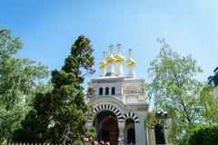 εκκλησία Γενεύη ρωσική Ελβετία Στοκ εικόνες με δικαίωμα ελεύθερης χρήσης
