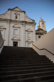 Εκκλησία εξωτερική σε Orosei, Σαρδηνία Στοκ Εικόνα