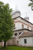εκκλησία δημοπρασίας υπόθεσης novgorod veliky Καθεδρικός ναός Znamensky του 17ου αιώνα Στοκ Φωτογραφίες
