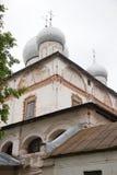 εκκλησία δημοπρασίας υπόθεσης novgorod veliky Καθεδρικός ναός Znamensky του 17ου αιώνα Στοκ Εικόνες