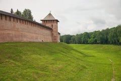 εκκλησία δημοπρασίας υπόθεσης novgorod veliky Κρεμλίνο στοκ εικόνα