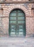 εκκλησία καθεδρικών ναών Plaza de Armas cuzco Περού Στοκ εικόνα με δικαίωμα ελεύθερης χρήσης