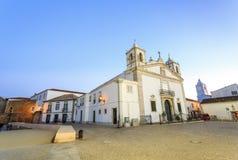 Εκκλησία και κυβερνήτες Castle της Σάντα Μαρία στο Λάγκος, Πορτογαλία Στοκ Εικόνες