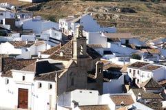 Εκκλησία και στέγες, Antequera, Ισπανία. Στοκ Εικόνα