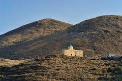 Εκκλησία και τοπίο ακτών της Πελοποννήσου στοκ εικόνες με δικαίωμα ελεύθερης χρήσης