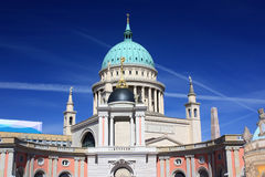 Εκκλησία και το Κοινοβούλιο Nikolai Πότσνταμ, Γερμανία - 17 04 2016 Στοκ φωτογραφία με δικαίωμα ελεύθερης χρήσης