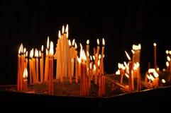 εκκλησία κεριών Μοναστήρι Geghard Στοκ Εικόνες