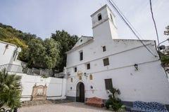 Εκκλησία κοινοτήτων του San Sebastian, Casares, Μάλαγα Στοκ φωτογραφίες με δικαίωμα ελεύθερης χρήσης