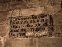 Εκκλησία κοινοτήτων του ST Mary's σε κάτω Alderley Τσέσαϊρ Στοκ Φωτογραφίες