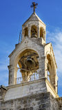 Εκκλησία κουδουνιών καμπαναριών καμπαναριών του Nativity Βηθλεέμ Παλαιστίνη Στοκ φωτογραφίες με δικαίωμα ελεύθερης χρήσης
