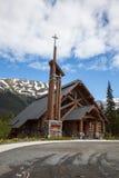 Εκκλησία κούτσουρων στοκ φωτογραφία με δικαίωμα ελεύθερης χρήσης