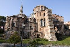 εκκλησία Κωνσταντινούπολη Τουρκία chora Στοκ Φωτογραφία