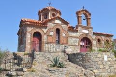 Εκκλησία, Λέσβος, Ελλάδα στοκ φωτογραφίες