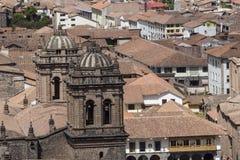Εκκλησία Λα Compania de Ιησούς Plaza de Armas στην πλατεία σε Cuzco, Π Στοκ φωτογραφίες με δικαίωμα ελεύθερης χρήσης