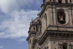Εκκλησία Λα Compania de Ιησούς Plaza de Armas στην πλατεία σε Cuzco, Π Στοκ εικόνες με δικαίωμα ελεύθερης χρήσης