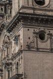Εκκλησία Λα Compania de Ιησούς Plaza de Armas στην πλατεία σε Cuzco, Π Στοκ Εικόνα