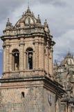 Εκκλησία Λα Compania de Ιησούς Plaza de Armas στην πλατεία σε Cuzco, Π Στοκ Φωτογραφία