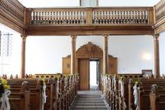 εκκλησία μέσα Στοκ εικόνα με δικαίωμα ελεύθερης χρήσης
