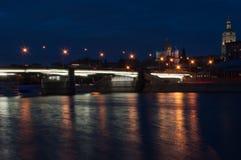 εκκλησία 40 μαρτύρων τη νύχτα Στοκ Εικόνα