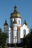Εκκλησία με το θόλο Στοκ εικόνες με δικαίωμα ελεύθερης χρήσης