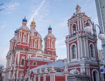εκκλησία Μόσχα Στοκ εικόνα με δικαίωμα ελεύθερης χρήσης