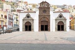 Εκκλησία νησί του San Sebastian, Gomera, Ισπανία Στοκ φωτογραφία με δικαίωμα ελεύθερης χρήσης