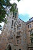 Εκκλησία Νιού Χάβεν πανεπιστημίου Γέιλ στοκ εικόνες