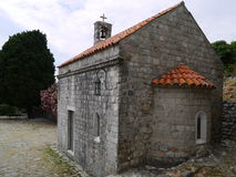 Εκκλησία, παλαιός φραγμός (φραγμός Stary), Μαυροβούνιο Στοκ Εικόνα