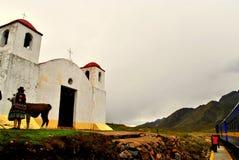 εκκλησία περουβιανός Στοκ εικόνα με δικαίωμα ελεύθερης χρήσης