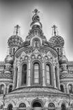 εκκλησία Πετρούπολη Ρωσία savior ST αίματος Στοκ Εικόνες