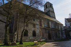 Εκκλησία που ευλογείται από το ηλιοβασίλεμα Στοκ φωτογραφία με δικαίωμα ελεύθερης χρήσης