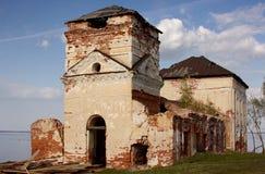 εκκλησία που καταστρέφεται Στοκ Εικόνα